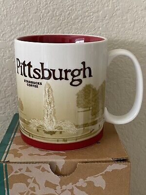 Starbucks Mug 2011 Pittsburgh NWT