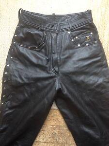 Ladies Harley Davidson leather pants