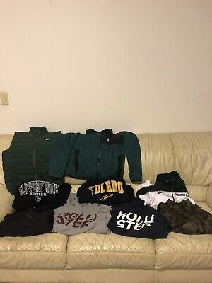 Hollister, American Eagle, Nike Sweatshirt/pullover/hoodie/vest  Men's Lot
