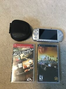 Sony PSP With 9 Games