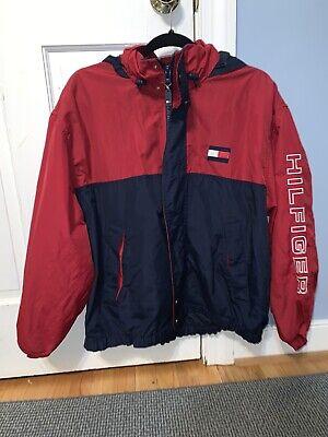 Vintage 90s Tommy Hilfiger Jeans Windbreaker Jacket