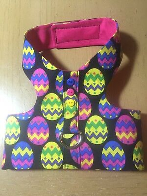 Easter Egg Chick Spring HandMade Dog Harness Best (1349)