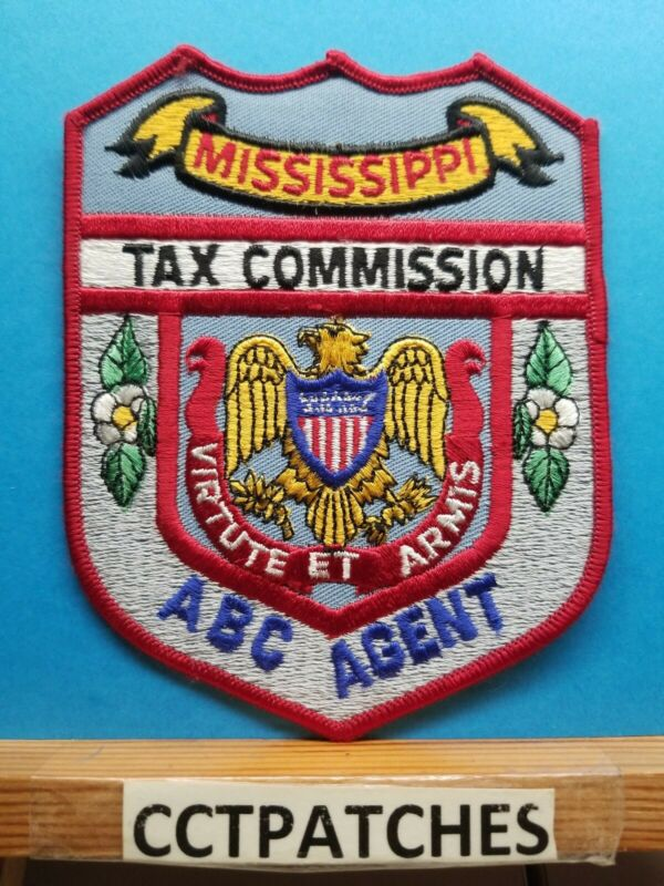 MISSISSIPPI TAX COMMISSION ABC AGENT (POLICE) SHOULDER PATCH MS