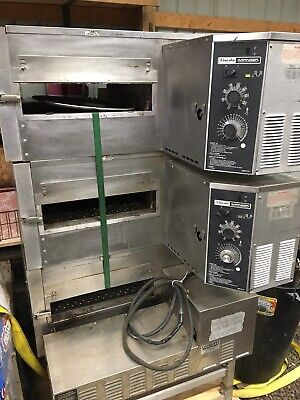 4 Lincoln Impinger Pizza Ovens Commercial Stackable Equipment Conveyer Stainless
