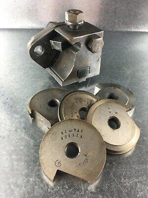 Turret Lathe Tool Holder Circular Form Tools With Riser Block Boyar Schultz