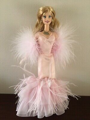 2002 holiday celebration collectors barbie clothes dress fashion gown outfit NEW