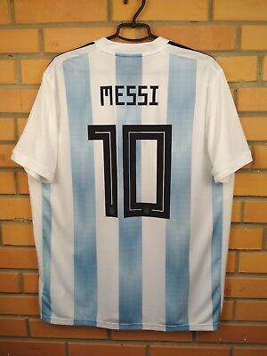 b6cb989d33446 Messi Argentina soccer jersey XL 2018 2019 shirt BQ9324 football Adidas