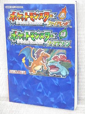Pokemon Leaf Green Map (POKEMON Fire Red Leaf Green Guide w/Map GBA Book)
