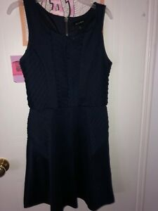 Navy Blue patterned dress from As you wish