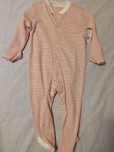 Several BRAND NEW with tags baby girl sleepers