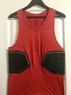 17e531ed0 NIKE Pro Combat Hyperstrong Compression Mens TANK TOP XL RED NWT