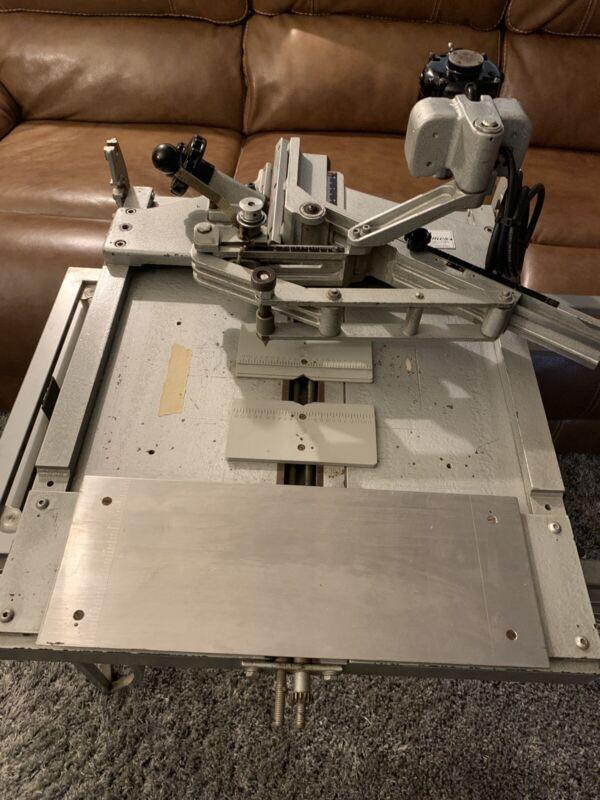 New Hermes EngravoGraph Flat Engraving Machine 👀