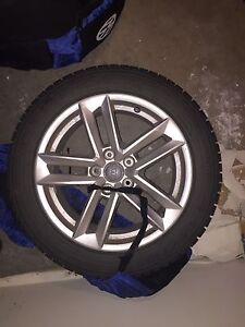 Winter tires audi A4 2015 to 2017