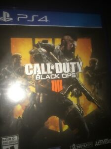 Looking to trade black ops 4 ps4 for red dead redemption.