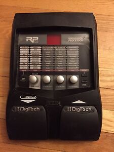 Digitech modeling guitar processor