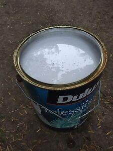 Dulux tintable ceiling premium paint 10L in Natural white Gordon Ku-ring-gai Area Preview