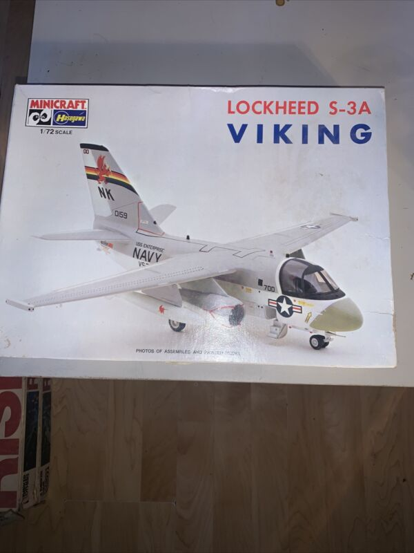 1/72 HASEGAWA / MINICRAFT Lockheed S-3A Viking #1142
