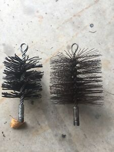 Chimney brush heads