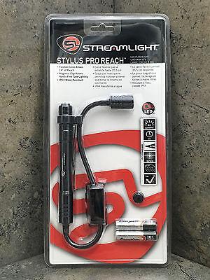"Streamlight Stylus Pro Reach Penlight 66418 14"" Reach"