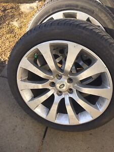 Land Rover Tires / Rims and Sensors / GREAT DEAL