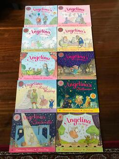 Angelina Ballerina box set