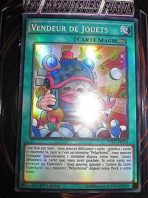 YU-GI-OH! SUPER RARE VENDEUR DE JOUETS FUEN-FR024 FRANCAIS EDITION 1 NEUF MINT