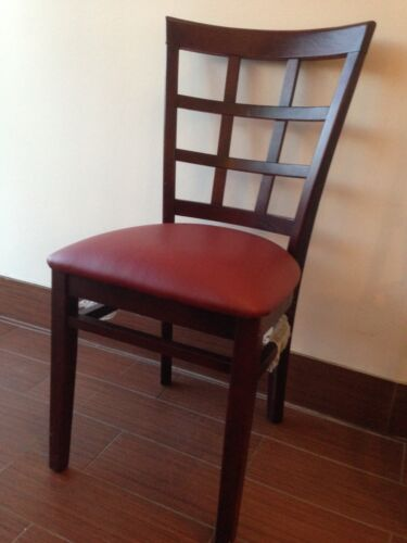 New Wholesale Price Commercial Restaurant  Black /Mahogany/ Walnut  chairs