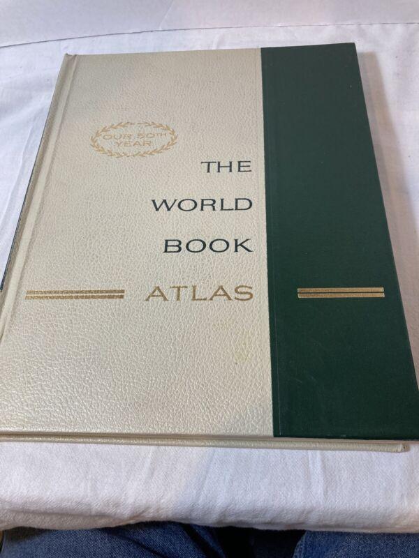 The World Book Atlas 1966
