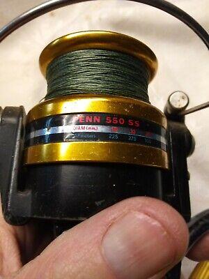Crosswind Gear Penn 550 SS Spinning Reel USA USED PENN REEL PART