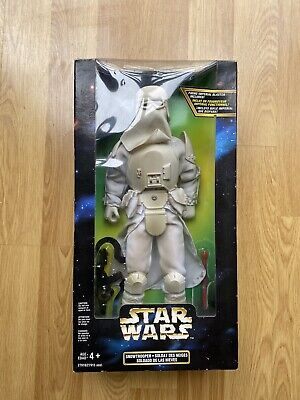 "1997 HASBRO KENNER STAR WARS ACTION COLLECTION SNOWTROOPER 12"" FIGURE BOXED"