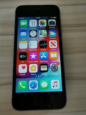 Apple iPhone 5s - 16GB - Space Grey (Unlocked) A1457 (GSM) *No Touch ID*