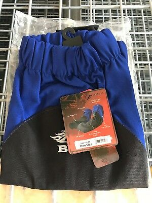 1 Pr Revco Bx9-19s-rb Bsx Reinforced Fire Resistant Welding Sleeves Blueblack