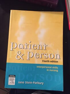 Patient & Person Fourth Edition