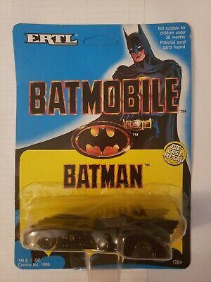 Vintage rare 1989 Ertl Batmobile Batman Die Cast Car