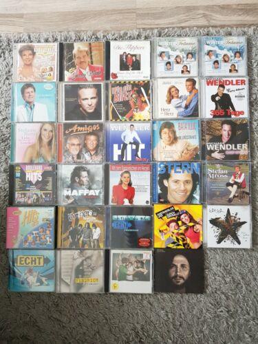 Musik CD 29 Stück Schlager, Volksmusik, Popmusik Sammlung Konvolut