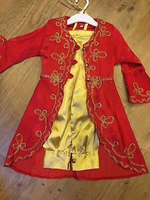 enna, Dubai 1001 Nacht, Orientalisch  Gr.104/116 Zwillinge Gold (Alladin-kostüm)