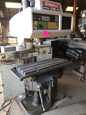 Bridgeport Cnc Mills - 2 Available Parts Or Repair