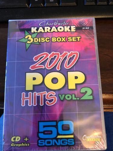 CHARTBUSTER KARAOKE CDGS 2010 POP 5144 - $40.00