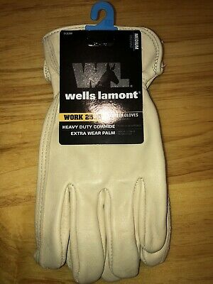 Wells Lamont 1130m Unlined Cowhide Full Leather Driver Glove Medium