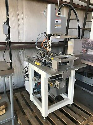 Yamaha Yk400x High-speed Scara Robot With Stand And Plc Cabinet