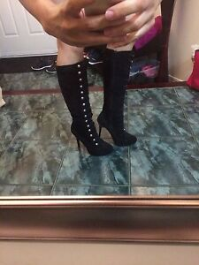 size 7 boots (GUESS and Ralph Lauren )