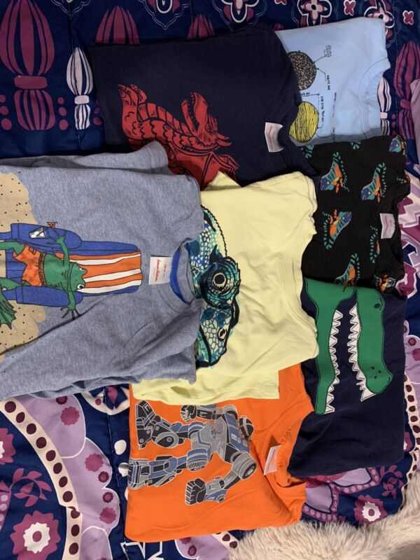 Boys T Shirt Lot Size 8 Hanna Andersson Gap Tea Collection
