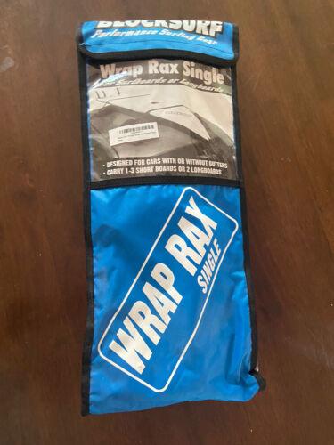 NEW BlockSurf Performance Surfing Gear Wrap Rax Single Surf Rack Pads - $20.00