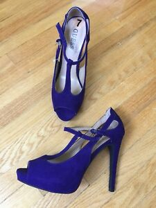 4 pairs of GUESS high heels size 6-7