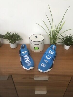adidas x pharrell williams human race nmd UK 9.5 US 10 Trainers Mint Condition
