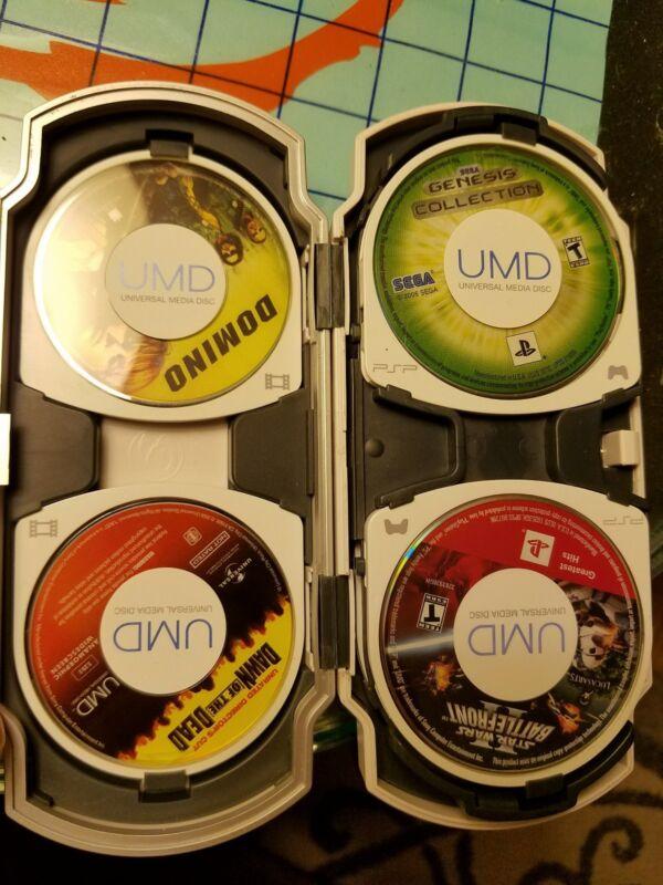 Sony PSP GamesX2 & MoviesX2