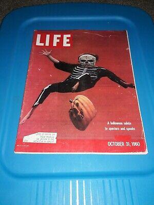 OCTOBER 31 1960 LIFE MAGAZINE, HALLOWEEN PICTORIAL, ST. LOUIS BOTANICAL](31 October Halloween)