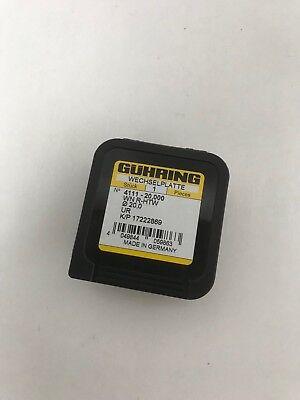 Gühring Wechselplatte WN R-HTW 20mm UR NEU/OVP