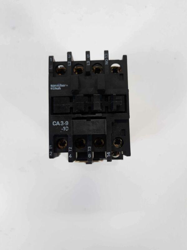 SPRECHER+SCHUH CA3-9-10 contactor 110/127V