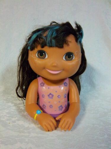 "2007 Mattel Dora the Explorer Styling Head 11"" Toy"